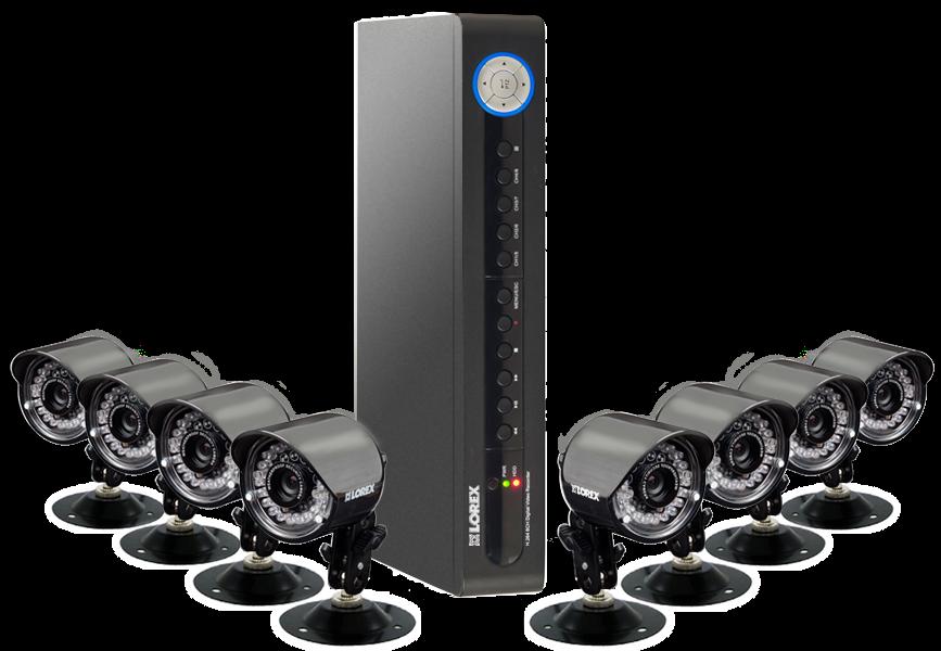 8 camera system